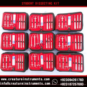 Premium quality dissecting kit/Anatomy set surgical instruments